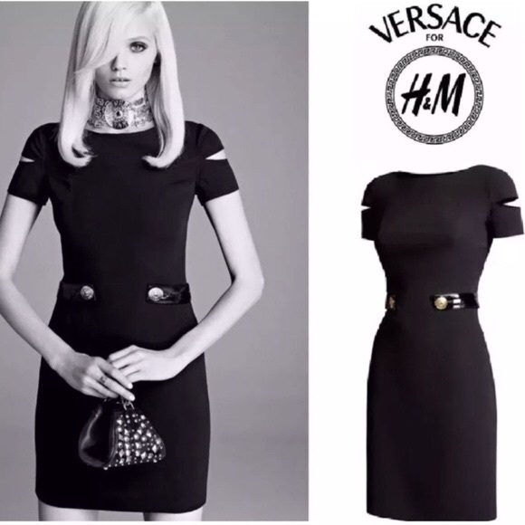 Versace for H&M Dresses & Skirts - RARE!! Versace for H&M Silk Dress, 6